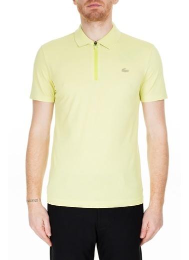 Lacoste  Slim Fit Polo T Shirt Erkek Polo Ph5109 Tr7 Sarı